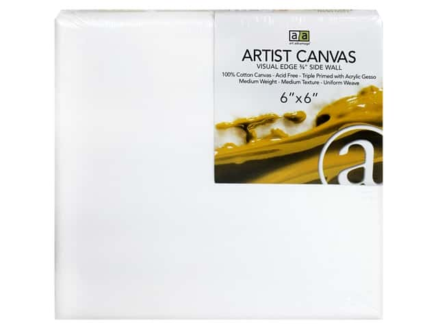Art Advantage Artist Canvas 6 x 6 in.