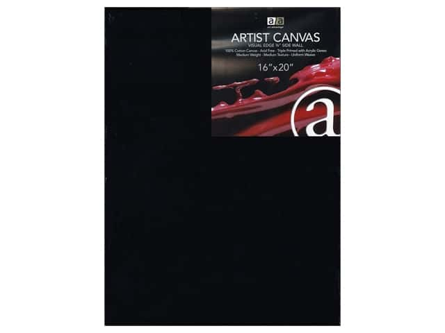 Art Advantage Artist Canvas 16 x 20 in. Black