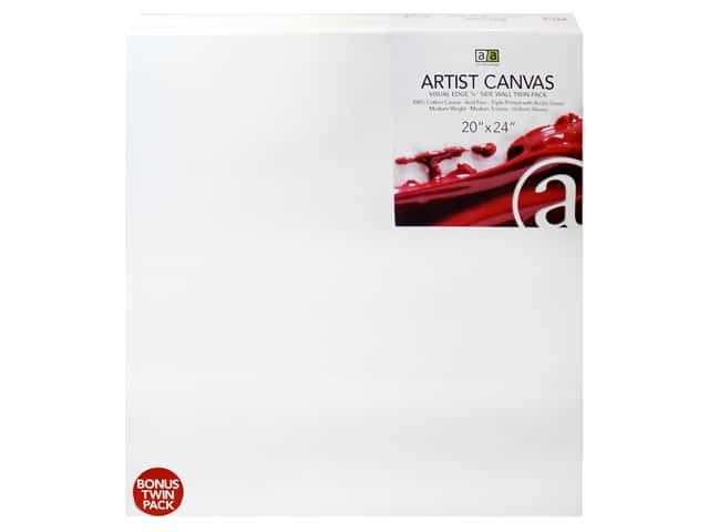 Art Advantage Artist Canvas 20 x 24 in. Twin Pack