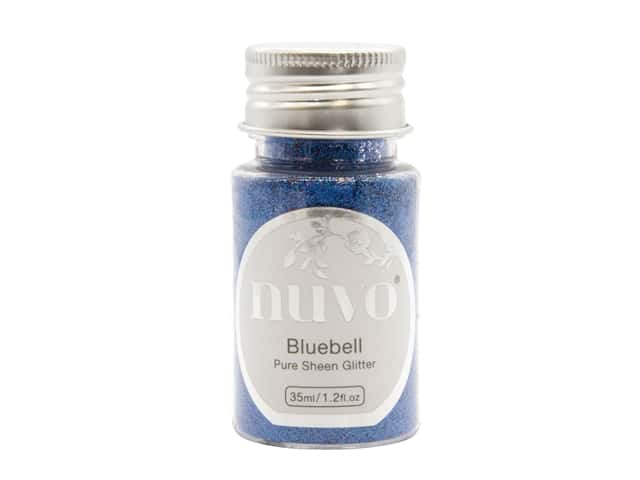 Nuvo Pure Sheen Glitter 1.2 oz. Bluebell