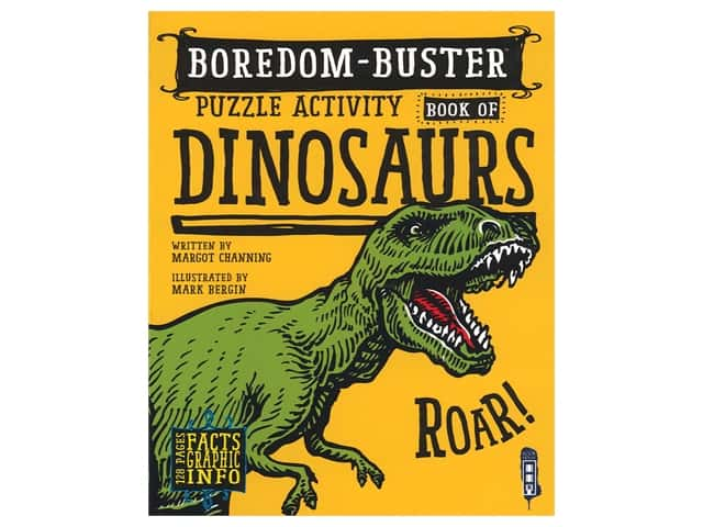 Book House Boredom-Buster Puzzle Activity Book of Dinosaur
