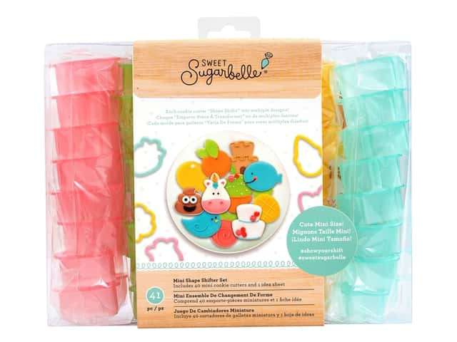 American Crafts Collection Sweet Sugarbelle Cookie Cutter Mini Shape Shifter Set