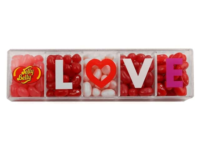 Jelly Belly Jelly Beans Clear Love Gift Box 4 oz 5 Flavors