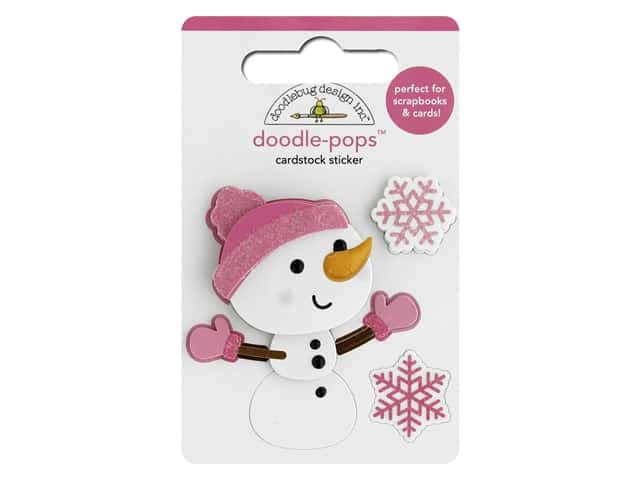 Doodlebug Collection Winter Wonderland Doodle Pops Crystal