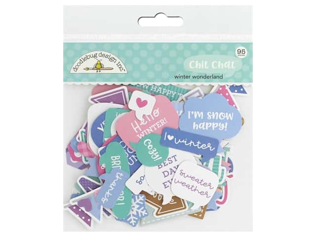 Doodlebug Collection Winter Wonderland Chit Chat