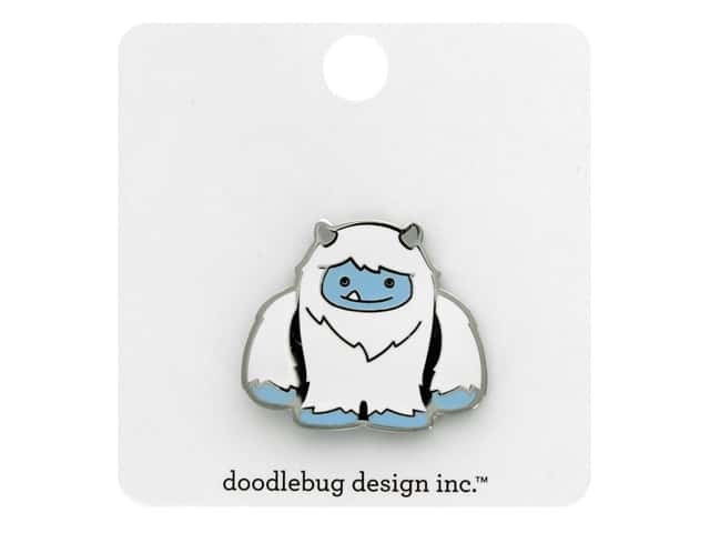 Doodlebug Collection Winter Wonderland Collectible Pins Yeti