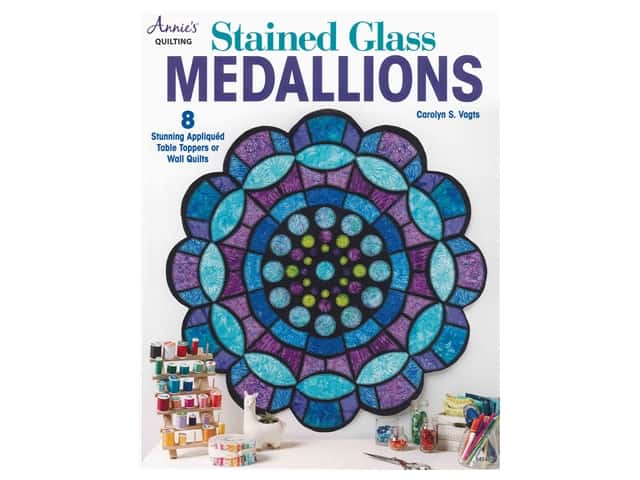 Annie's Stained Glass Medallions Book