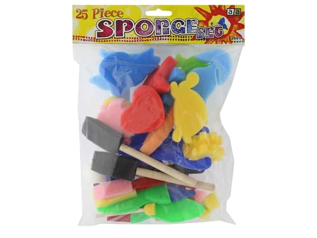 Art Advantage Sponge Set 25 pc.