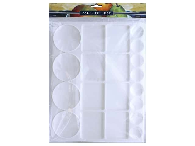 Pro Art Palette Tray Rectangle Plastic Extra Large