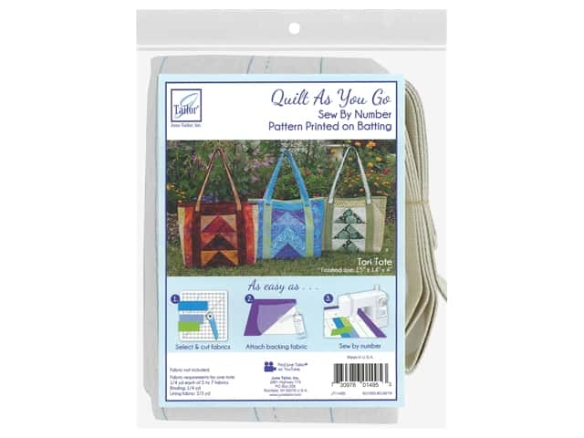 June Tailor Batting Quilt As You Go Tori Tote