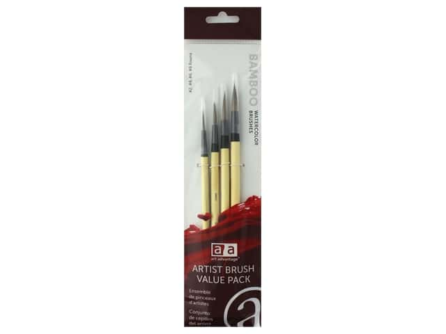 Art Advantage Brush Set Bamboo Style