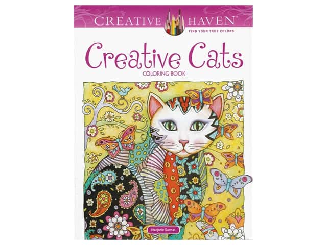 Dover Publications Creative Haven Creative Cats Coloring Book