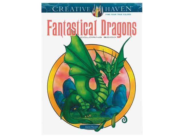 Dover Publications Creative Haven Fantastical Dragons Coloring Book