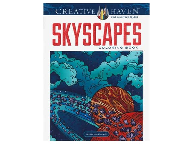 Dover Publications Creative Haven SkyScapes Coloring Book