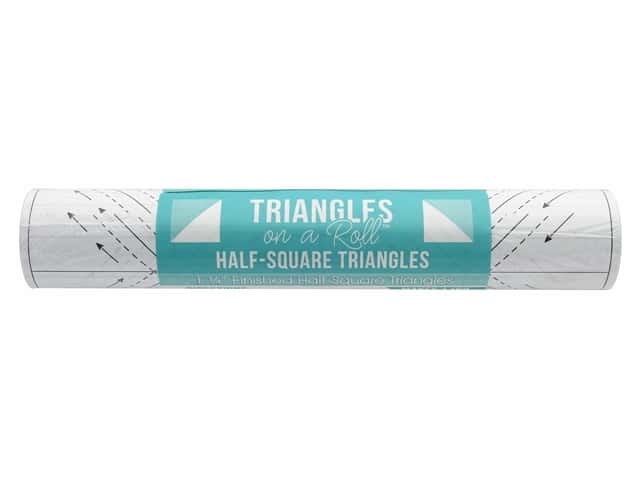 It's Sew Emma Notions Triangles On A Roll Half Square 1.25 in.