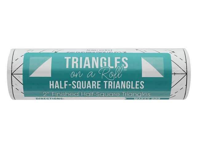 It's Sew Emma Notions Triangles On A Roll Half Square 2 in.