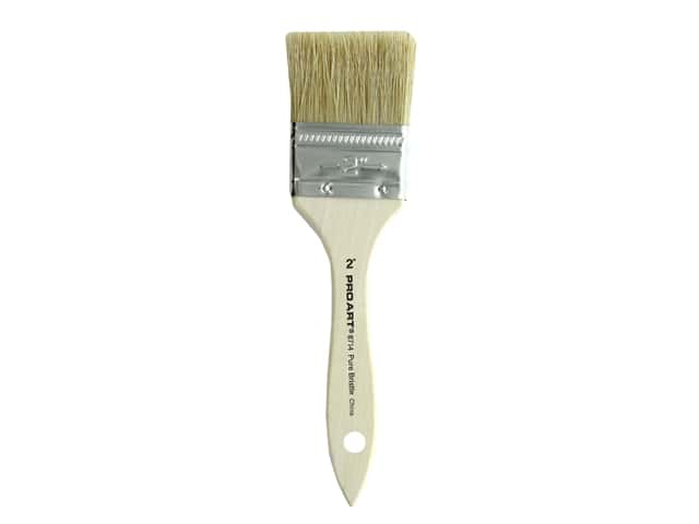 Pro Art Brush Bristle White 2 in.