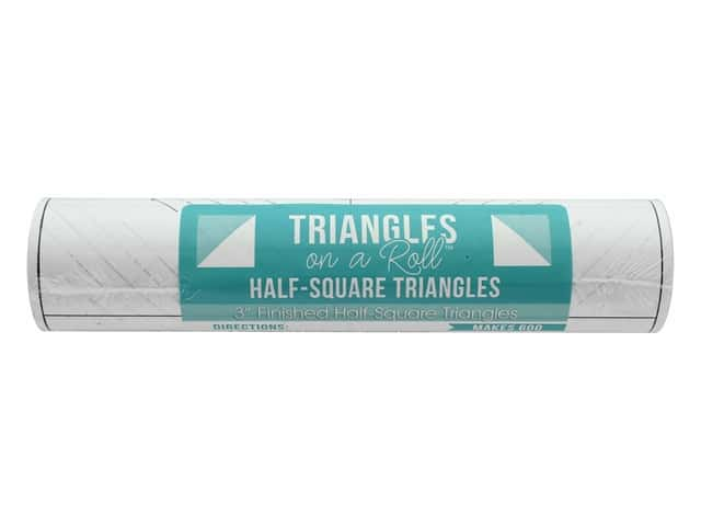 It's Sew Emma Notions Triangles On A Roll Half Square 3 in.