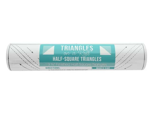 It's Sew Emma Notions Triangles On A Roll Half Square 3.5 in.