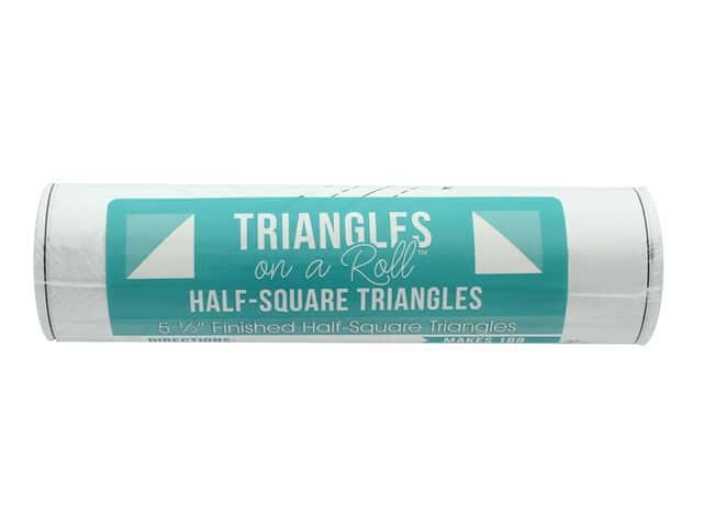 It's Sew Emma Notions Triangles On A Roll Half Square 5.5 in.