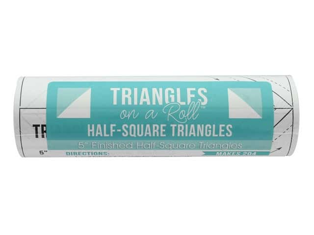 It's Sew Emma Notions Triangles On A Roll Half Square 5 in.