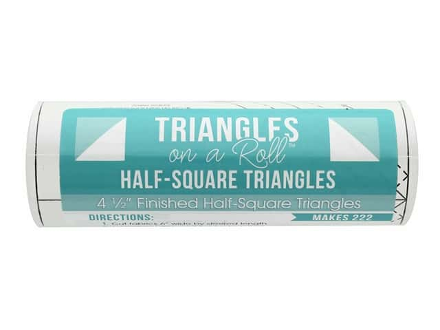 It's Sew Emma Notions Triangles On A Roll Half Square 4.5 in.