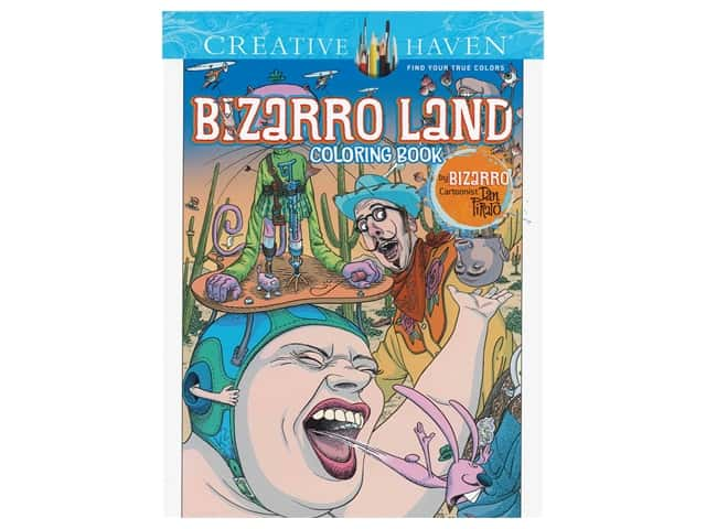 Dover Publications Creative Haven Bizarro Land Coloring Book