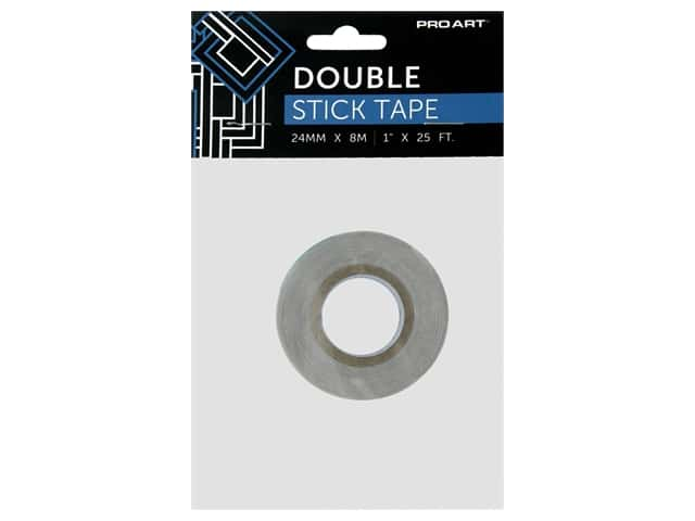 Pro Art Tape Double Stick Adhesive 1 in. x 25 ft