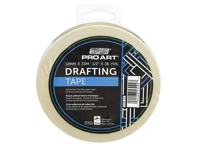 Pro Art Tape Drafting .5 in. x 36 yd