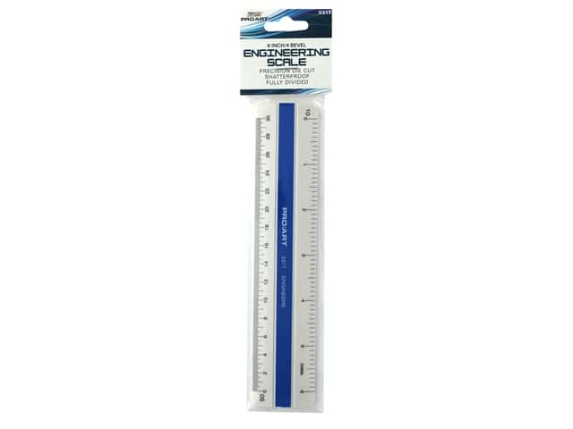 Pro Art Drafting 4 Bevel Scale Engineers 6 in.