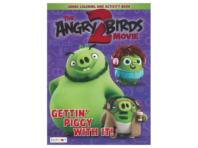 Bendon Jumbo Coloring & Activity Book Angry Birds 2