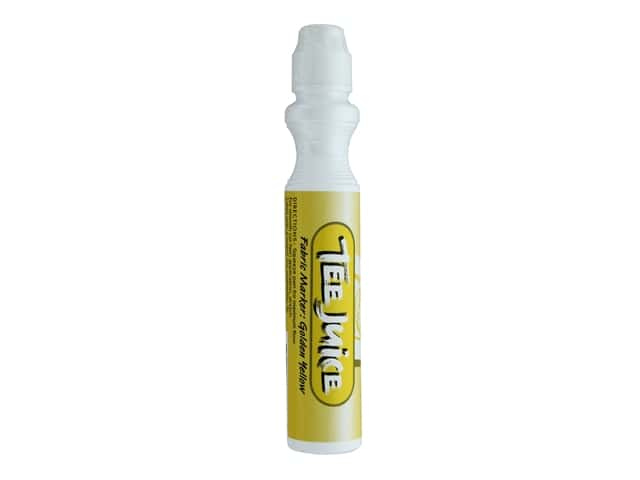 Jacquard Tee Juice Fabric Marker Broad Golden Yellow