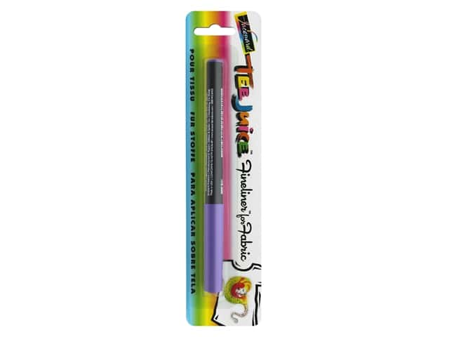 Jacquard Tee Juice Fabric Marker Fineliner Purple