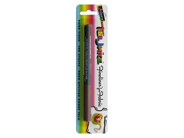 Jacquard Tee Juice Fabric Marker Fineliner Brown