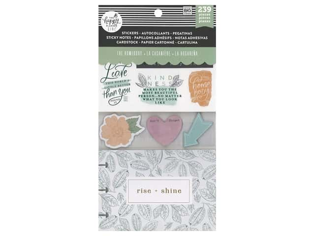 Me&My Big Ideas Happy Planner Accessory Pack Multi Homebody