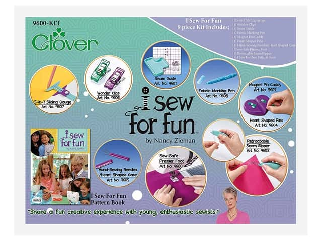 Clover I Sew For Fun Kit
