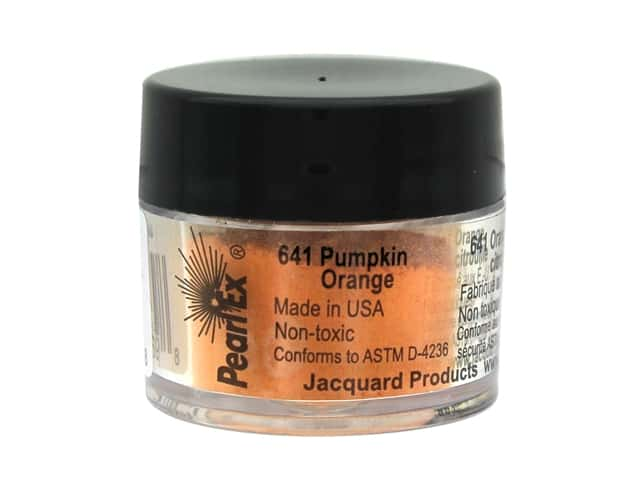 Jacquard Pearl-Ex Pigment 0.11 oz. Pumpkin Orange