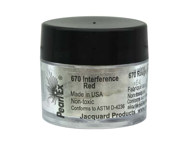Jacquard Pearl-Ex Pigment 0.11 oz. Interference Red