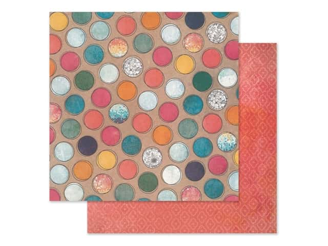 American Crafts Collection Vicki Boutin Wildflower & Honey Paper 12 in. x 12 in. Create A Buzz
