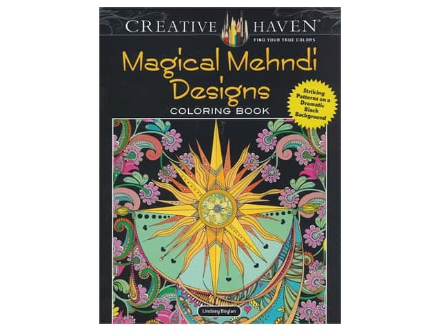 Dover Publications Creative Haven Magical Mehndi Designs Coloring Book
