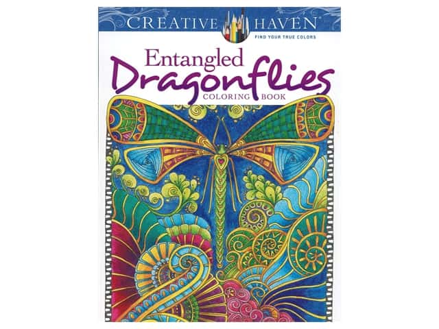 Dover Publications Creative Haven Entangled Dragonflies Coloring Book