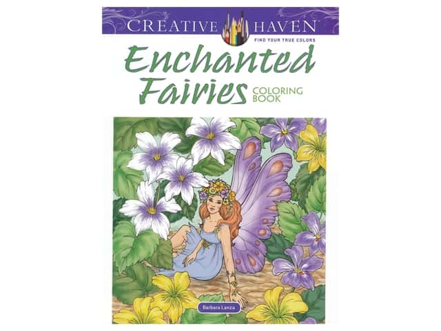 Dover Publications Creative Haven Enchanted Fairies Coloring Book