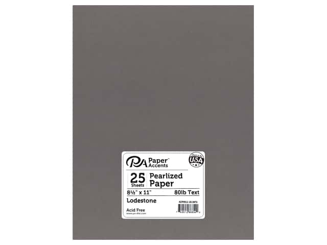 Paper Accents Pearlized Paper 8 1/2 x 11 in. #8872 Lodestone
