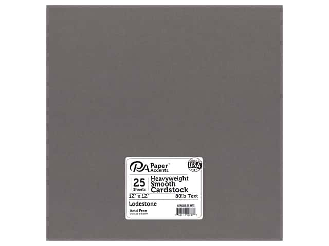 Paper Accents Pearlized Paper 12 x 12 in. #8872 Lodestone