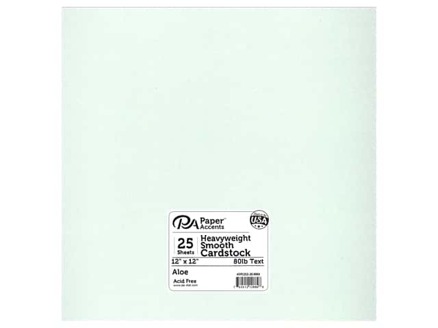 Paper Accents Pearlized Paper 12 x 12 in. #8869 Aloe