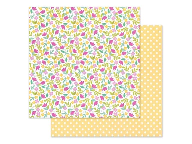 Doodlebug Collection Love Notes Paper 12 in. x 12 in. Love You Bunches