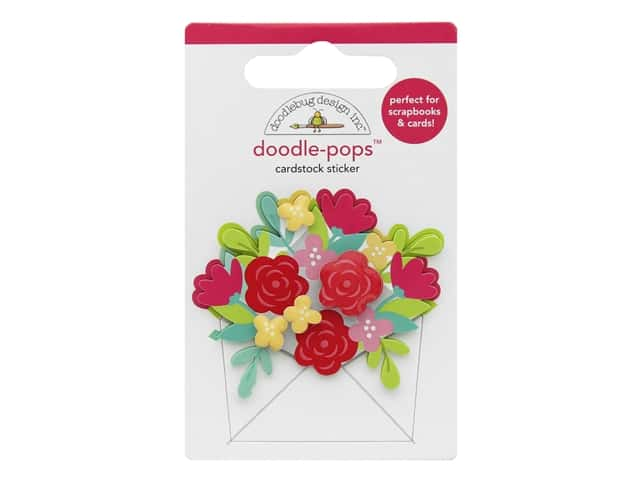 Doodlebug Collection Love Notes Doodle Pop Sending Love
