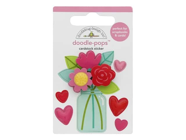 Doodlebug Collection Love Notes Doodle Pop Love You Bunches