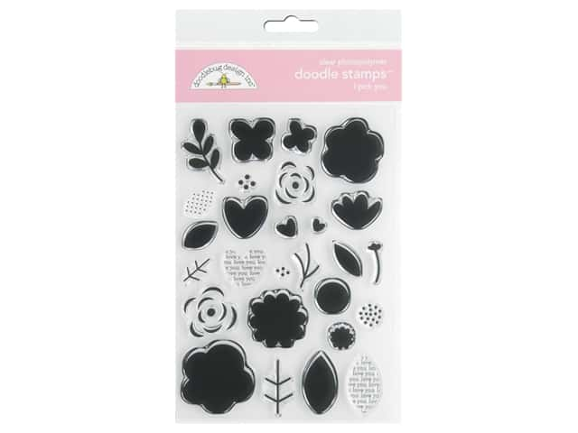 Doodlebug Collection Love Notes Doodle Stamps I Pick You