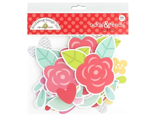 Doodlebug Collection Love Notes Odds & Ends I Pick You